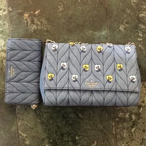 NWT matching Kate Spade ♠️ Emelyn Hand bag set